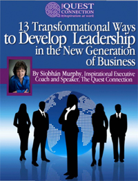 13 Transformational Ways to Develop Leadership, by Siobhan Murphy, MCC